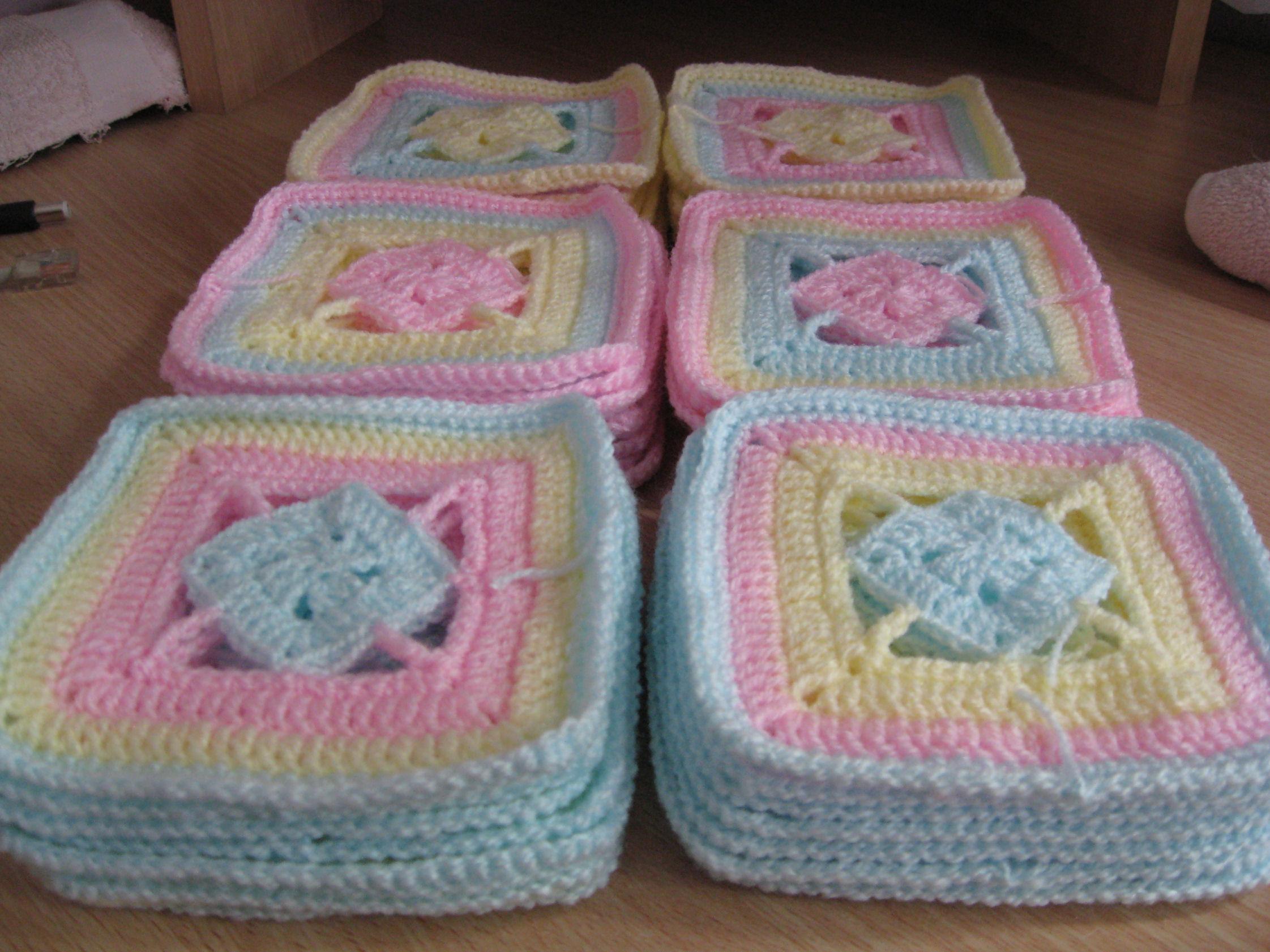Cuadraditos de crochet imagui - Cuadraditos de crochet ...